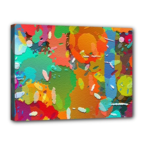 Background Colorful Abstract Canvas 16  X 12