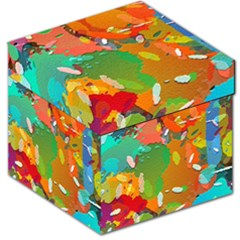 Background Colorful Abstract Storage Stool 12