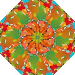 Background Colorful Abstract Hook Handle Umbrellas (medium)