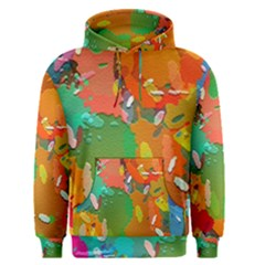 Background Colorful Abstract Men s Pullover Hoodie