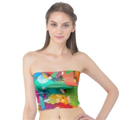 Background Colorful Abstract Tube Top