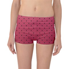 Watermelon Minimal Pattern Reversible Boyleg Bikini Bottoms