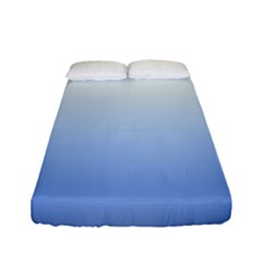 Red And Blue Fitted Sheet (full/ Double Size)