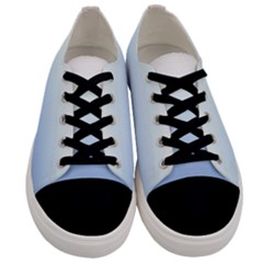 Red And Blue Men s Low Top Canvas Sneakers