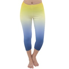 Sun Goes Down Capri Winter Leggings