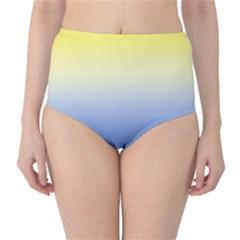 Sun Goes Down High Waist Bikini Bottoms