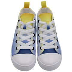 Sun Goes Down Kid s Mid Top Canvas Sneakers