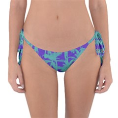 Electric Palm Tree Reversible Bikini Bottom