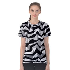 Polynoise Lowpoly Women s Cotton Tee