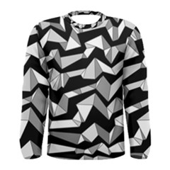 Polynoise Lowpoly Men s Long Sleeve Tee