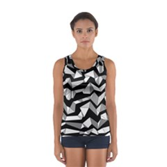 Polynoise Lowpoly Sport Tank Top