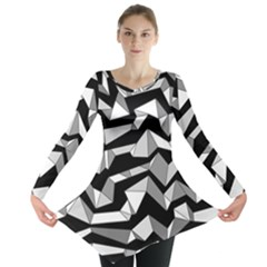 Polynoise Lowpoly Long Sleeve Tunic