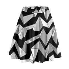 Polynoise Lowpoly High Waist Skirt