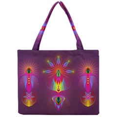 Abstract Bright Colorful Background Mini Tote Bag