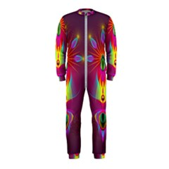 Abstract Bright Colorful Background Onepiece Jumpsuit (kids)