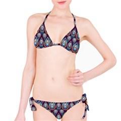 Seamless Pattern Pattern Bikini Set