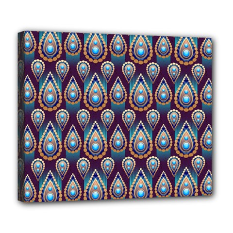 Seamless Pattern Pattern Deluxe Canvas 24  X 20