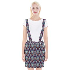 Seamless Pattern Pattern Braces Suspender Skirt