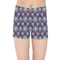 Seamless Pattern Pattern Kids Sports Shorts
