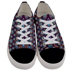 Seamless Pattern Pattern Women s Low Top Canvas Sneakers