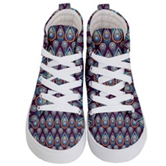 Seamless Pattern Pattern Kid s Hi Top Skate Sneakers