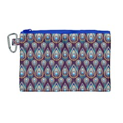 Seamless Pattern Pattern Canvas Cosmetic Bag (large)