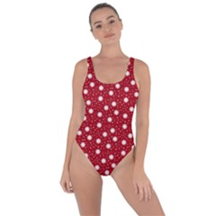 Floral Dots Red Bring Sexy Back Swimsuit