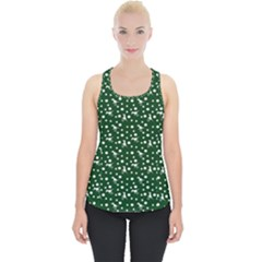 Dinosaurs Green Piece Up Tank Top