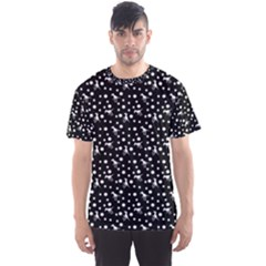 Dinosaurs Black Men s Sports Mesh Tee