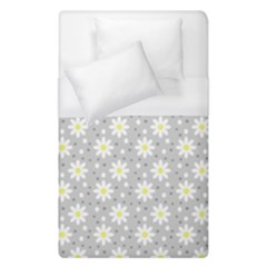 Daisy Dots Grey Duvet Cover (single Size)
