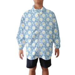 Daisy Dots Light Blue Wind Breaker (kids)