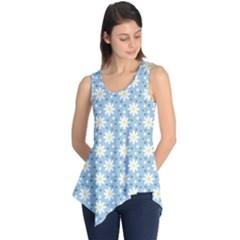 Daisy Dots Light Blue Sleeveless Tunic