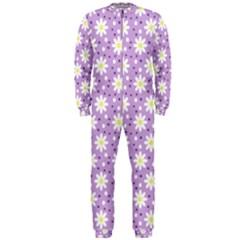 Daisy Dots Lilac Onepiece Jumpsuit (men)