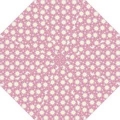 Daisy Dots Pink Hook Handle Umbrellas (medium)