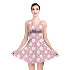 Daisy Dots Pink Reversible Skater Dress