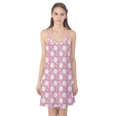 Daisy Dots Pink Camis Nightgown