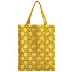 Daisy Dots Yellow Classic Tote Bag
