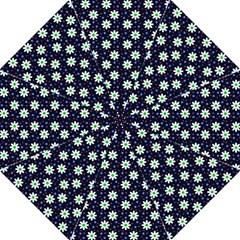 Daisy Dots Navy Blue Golf Umbrellas
