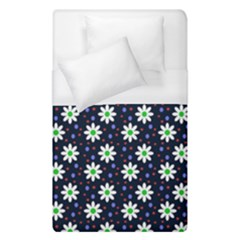 Daisy Dots Navy Blue Duvet Cover (single Size)