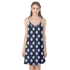 Daisy Dots Navy Blue Camis Nightgown