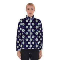 Daisy Dots Navy Blue Winterwear