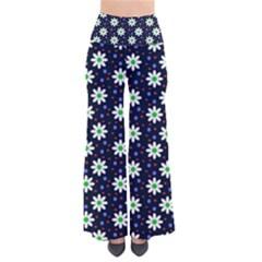 Daisy Dots Navy Blue Pants