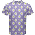Daisy Dots Violet Men s Cotton Tee View1
