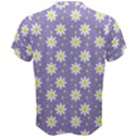 Daisy Dots Violet Men s Cotton Tee View2