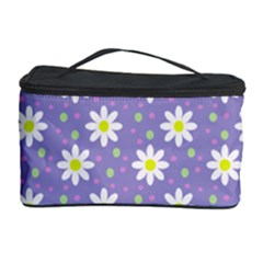 Daisy Dots Violet Cosmetic Storage Case