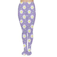 Daisy Dots Violet Women s Tights