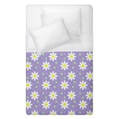 Daisy Dots Violet Duvet Cover (single Size)