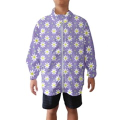 Daisy Dots Violet Wind Breaker (kids)