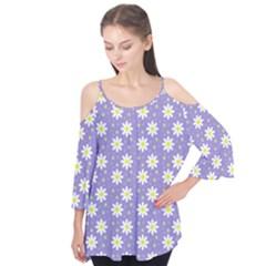 Daisy Dots Violet Flutter Tees