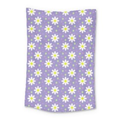 Daisy Dots Violet Small Tapestry